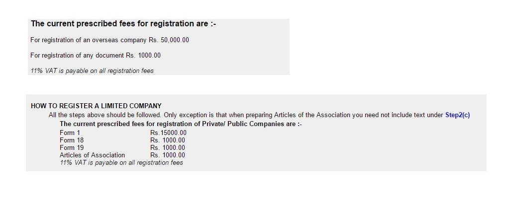 how to register a company