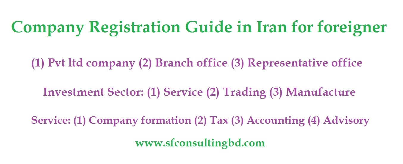FAQ of company registration in Iran