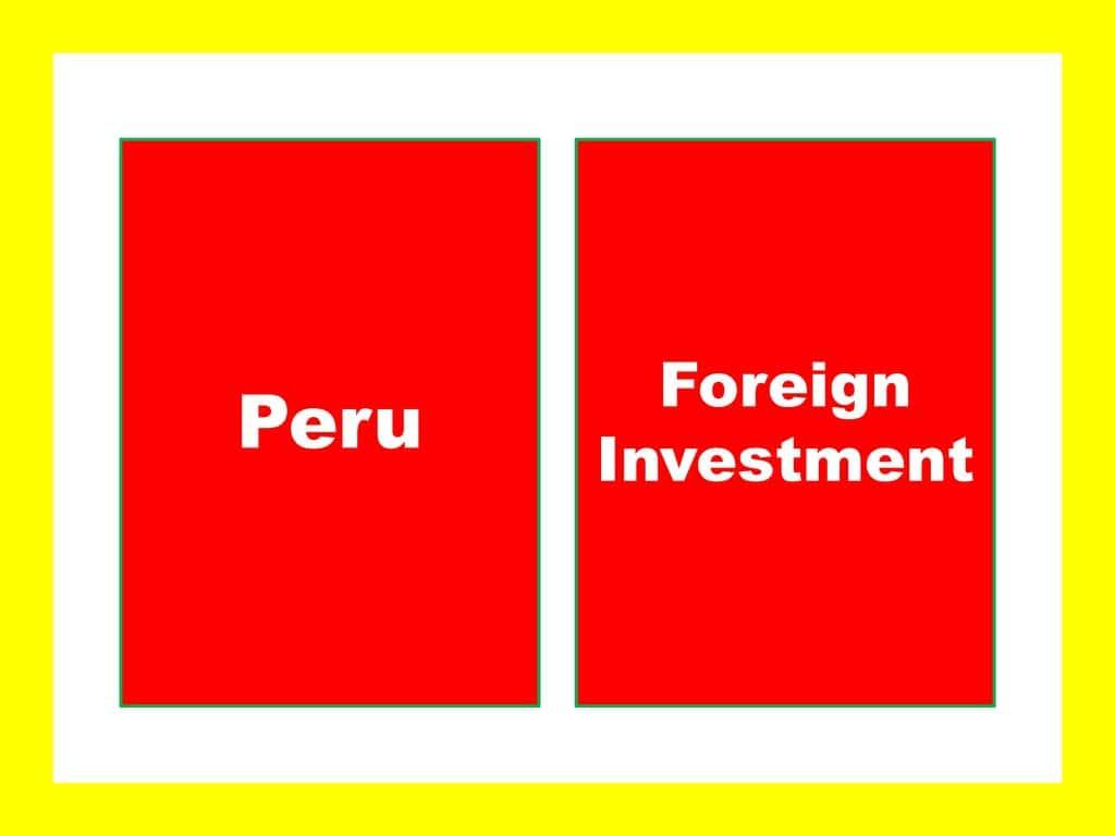 Peru Foreign Company Registration