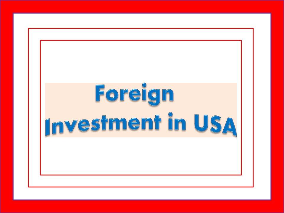 USA Foreign Company Registration