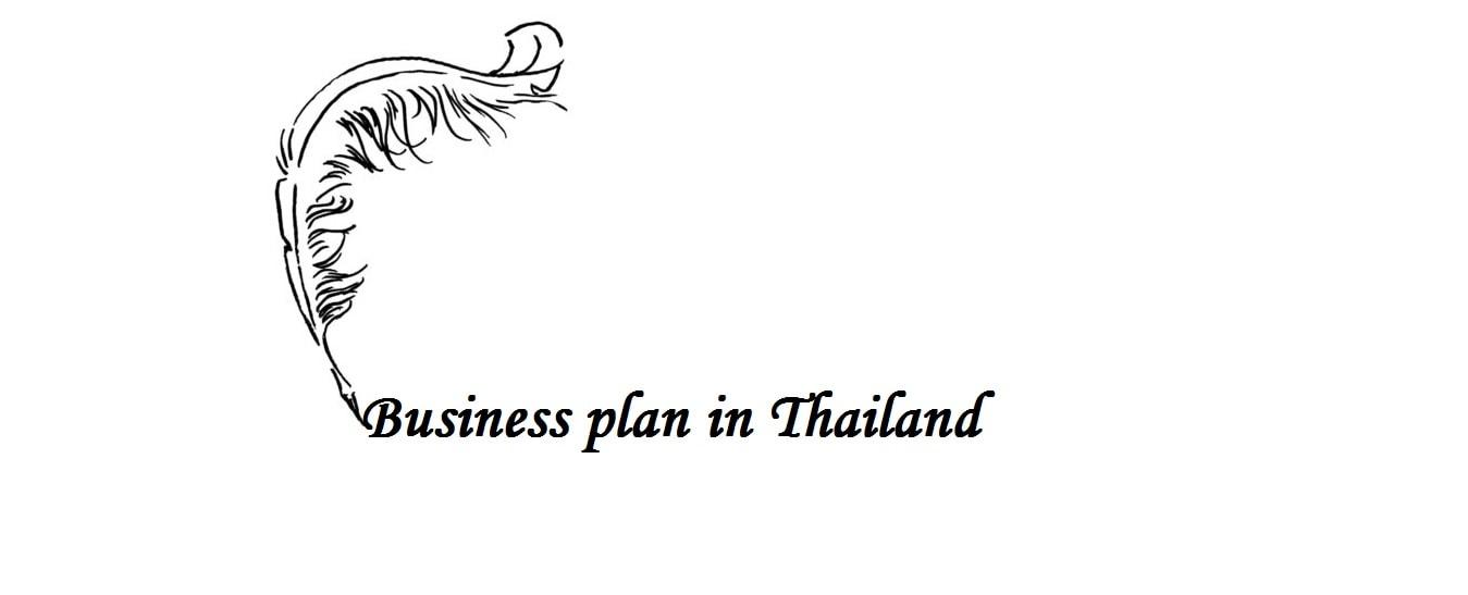 Business plan in Thailand