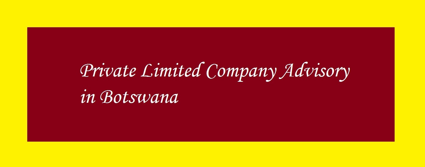 How to register a limited liability company in Botswana