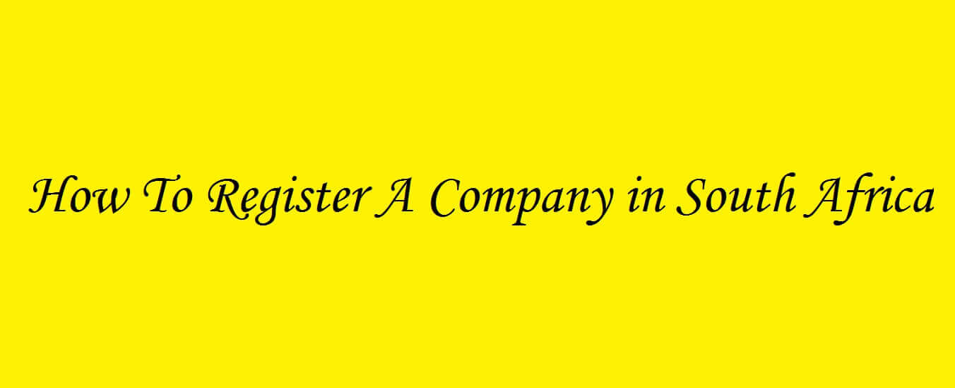 How to register a limited liability company South Africa