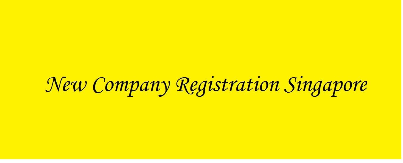 New Company Registration Singapore