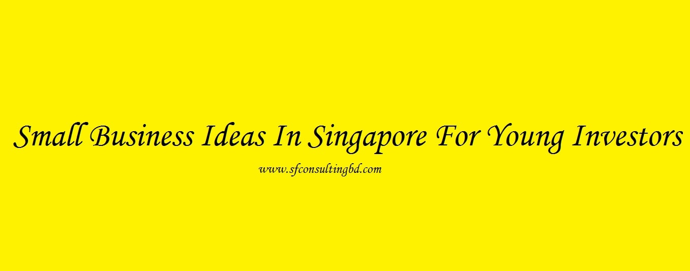 Small business ideas in Singapore