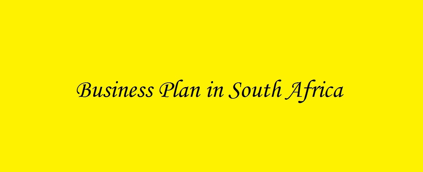 Companies that do business plans in south africa