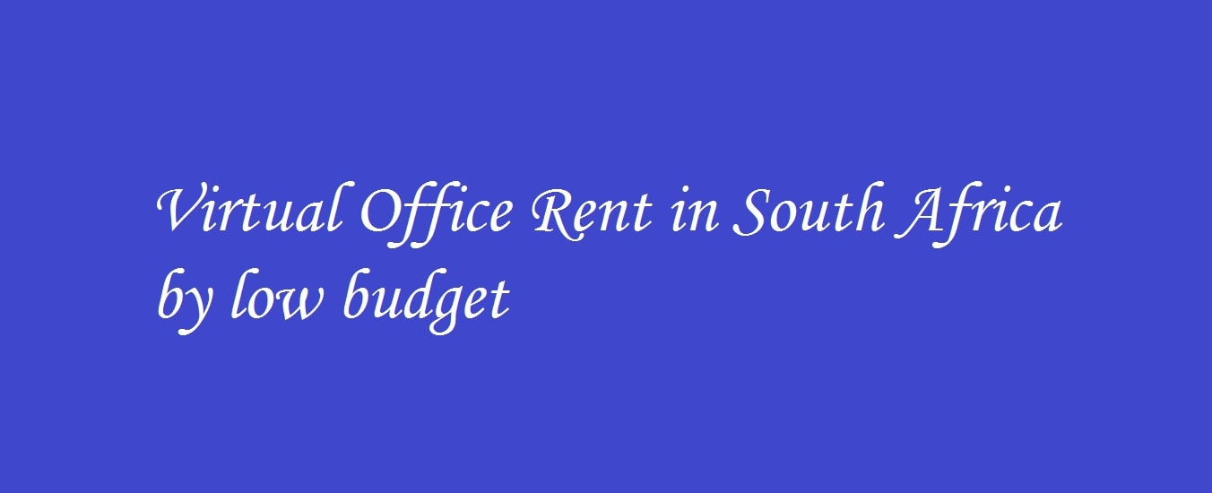 Virtual office rent South Africa