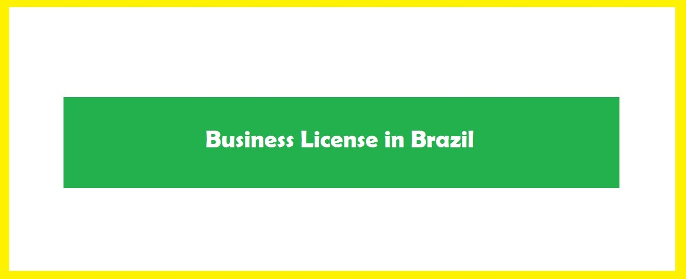 Required business license in Brazil-business licensing