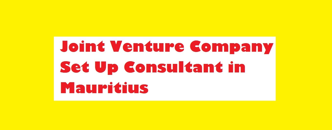 Joint venture company registration Mauritius