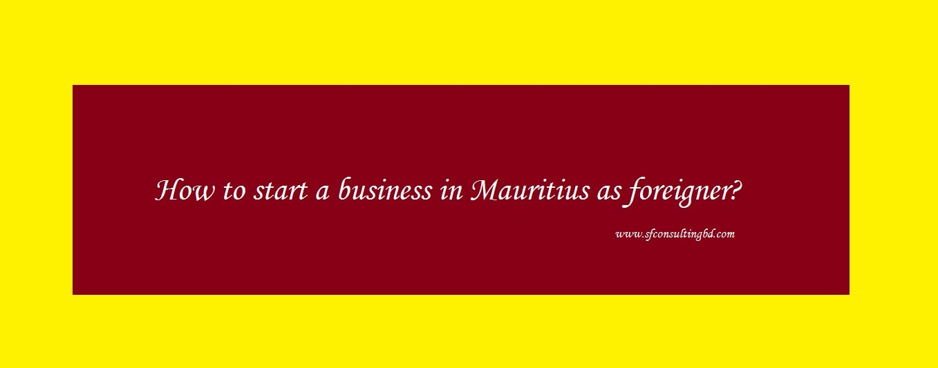Start Business in Mauritius