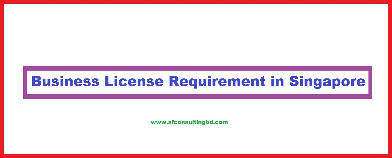 Business license in Singapore
