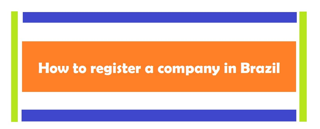 register a company in Brazil