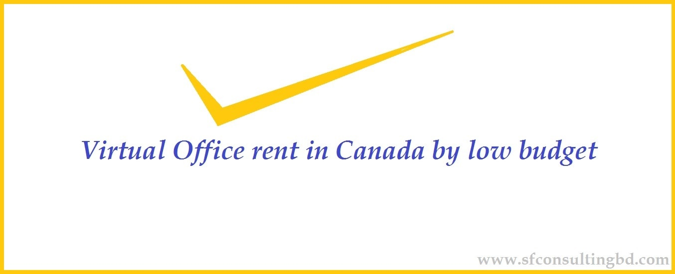 Virtual office rent Canada