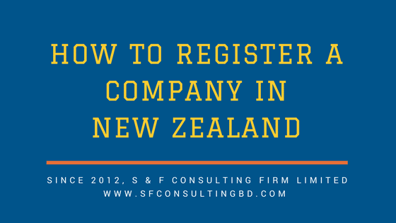 How to register a company in New Zealand