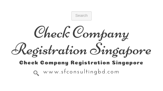 Check Company Registration Singapore