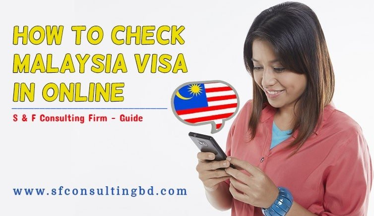Malaysia visa check in online