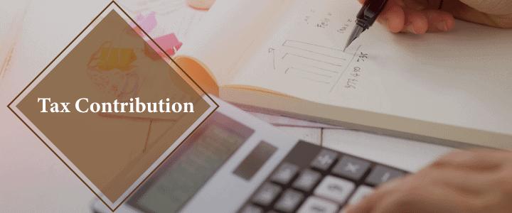 Tax contribution