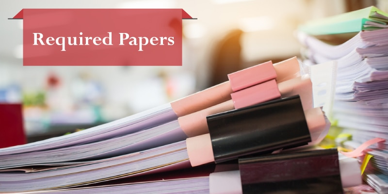 Required Papers for Company Registration