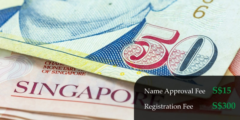 cost to register a company in Singapore
