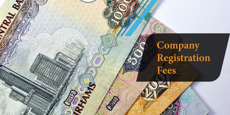Company registration fees in Dubai
