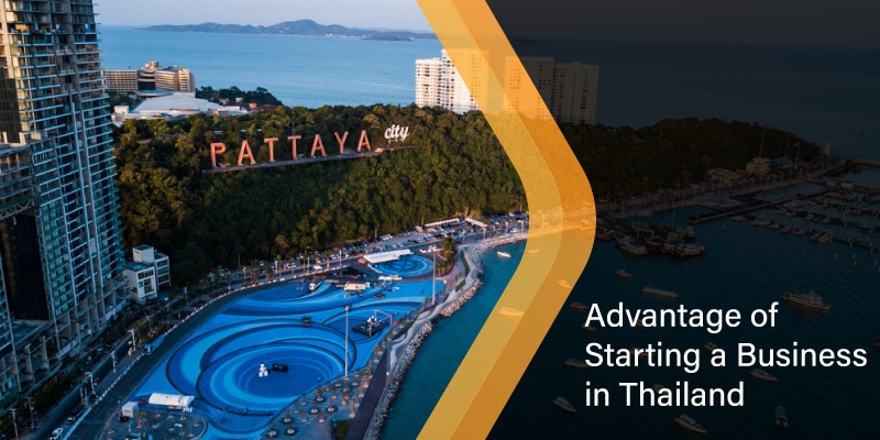 Advantage of starting a business in Thailand