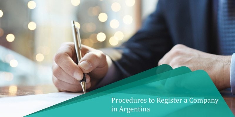 Initial procedures to register a company in Argentina