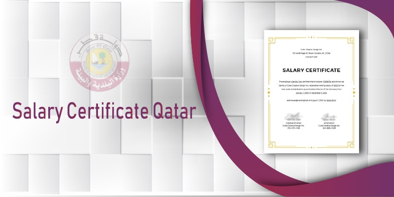 Obtaining a Salary Certificate in Qatar