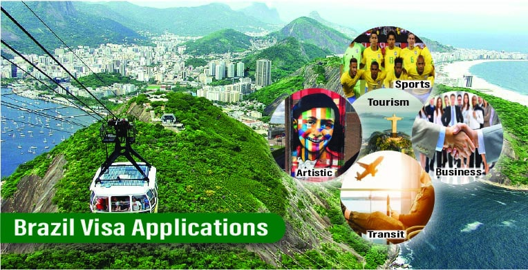 Brazil visa applications