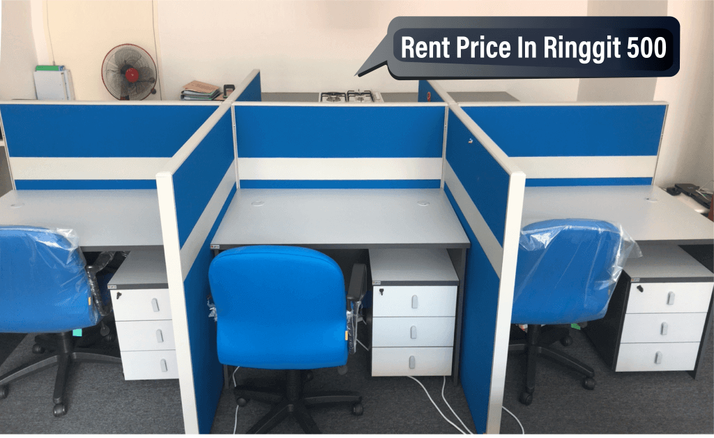 Virtual office Malaysia with ready desk rent