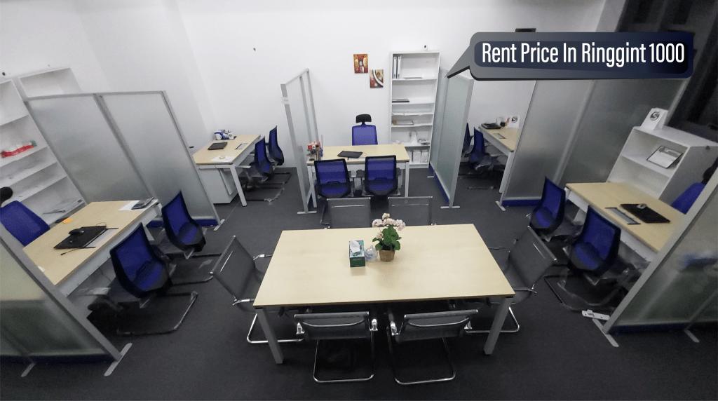 Ready desk rent in Malaysia, Kuala Lumpur, Petaling Jaya