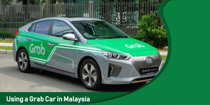 Using a Grab Car in Malaysia