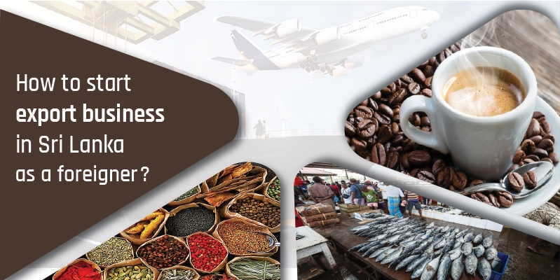 How to start an export business in Sri Lanka as a foreigner