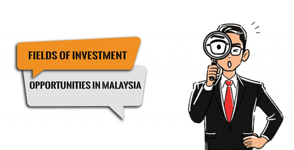 Fields for investment opportunities in Malaysia