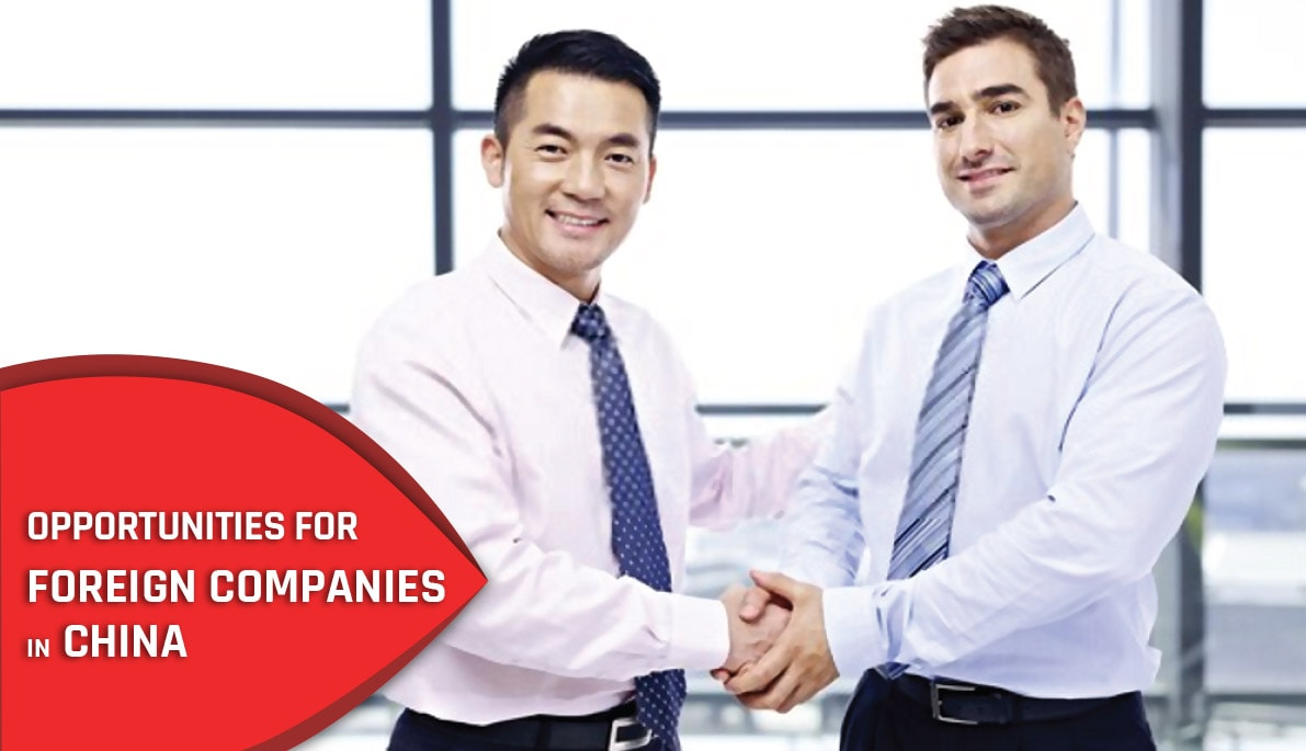 Opportunities for foreign companies in China