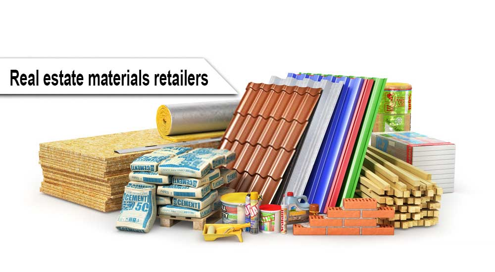 Real estate materials retailers in Malaysia