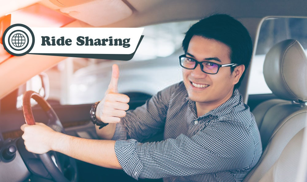 Ride sharing and delivery business in Malaysia