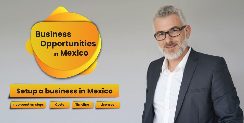 Business opportunities in Mexico - Business setup, Costs, and Licenses