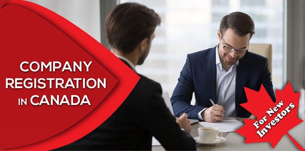 Company registration in Canada for new investors