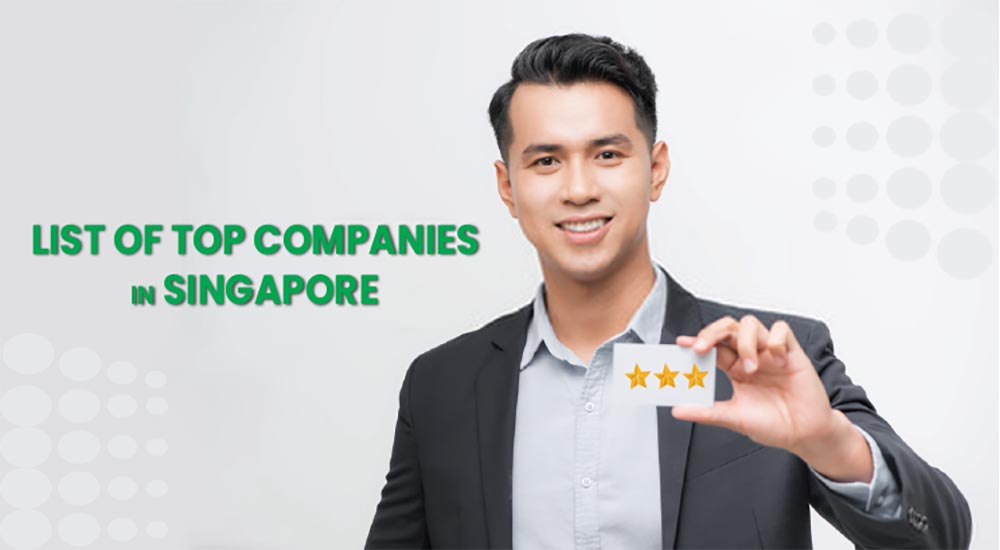 List of top companies in Singapore