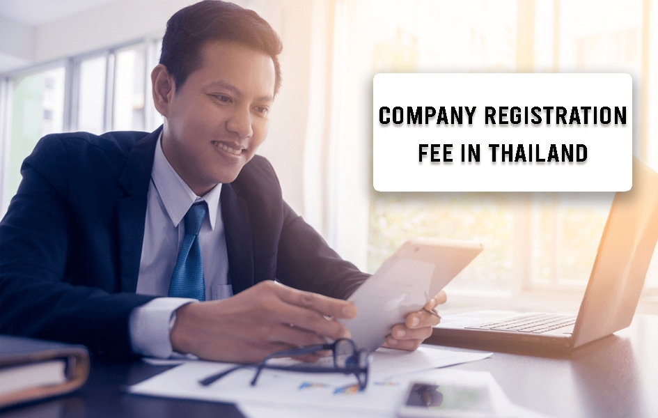 Company Registration Fee in Thailand