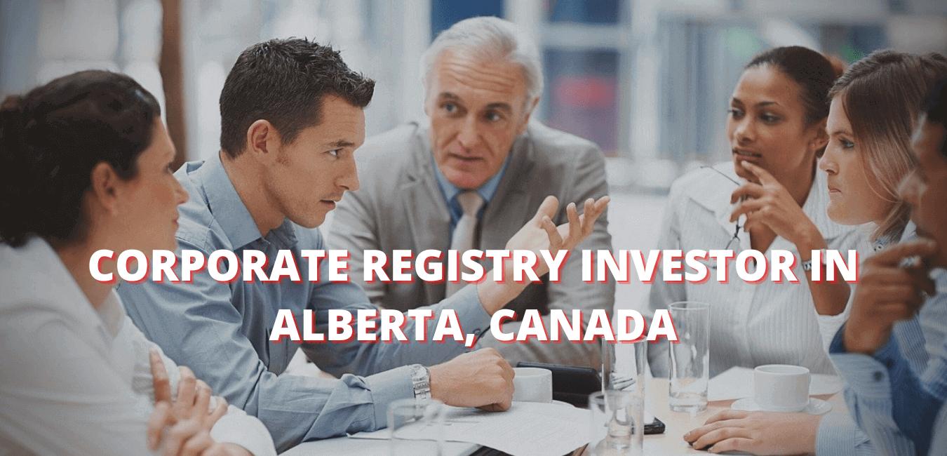 Alberta Corporate Registry Canada