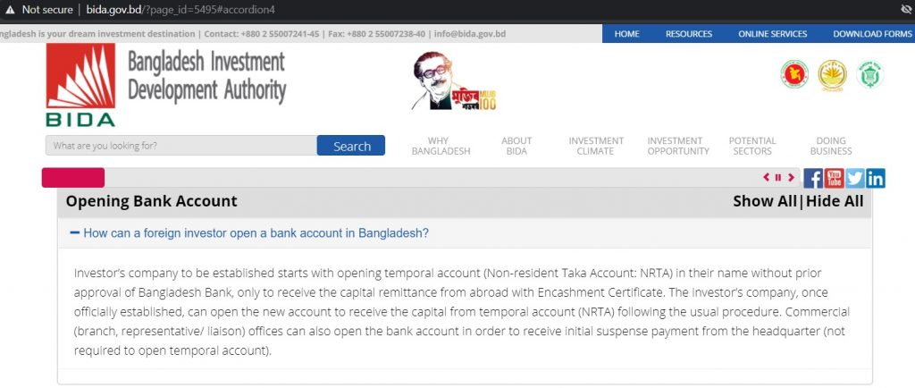 Receive Encashment letter from bank in terms of remittance