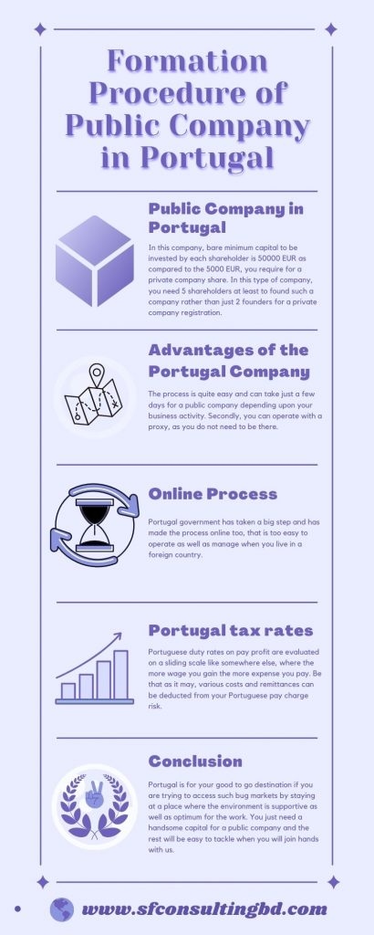 Formation Procedure of Public Company in Portugal