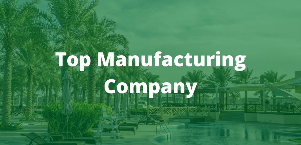 Top Manufacturing Company in Bahrain