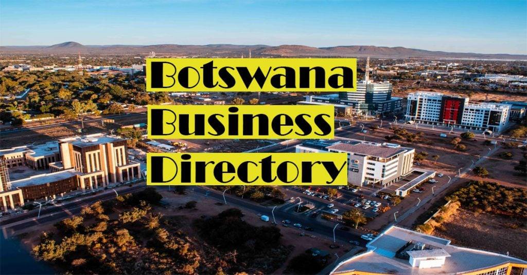 Botswana Business Directory