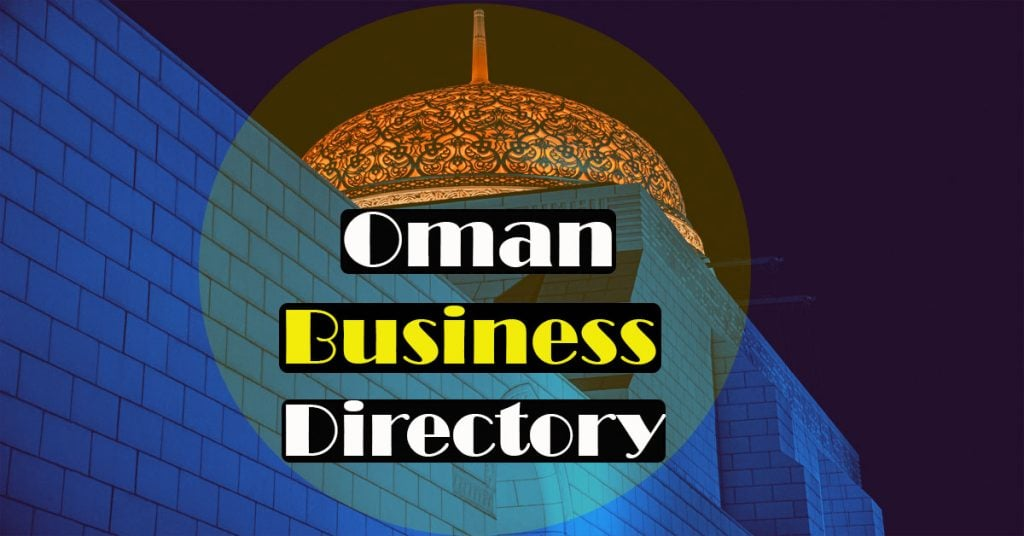 Business directory in Oman